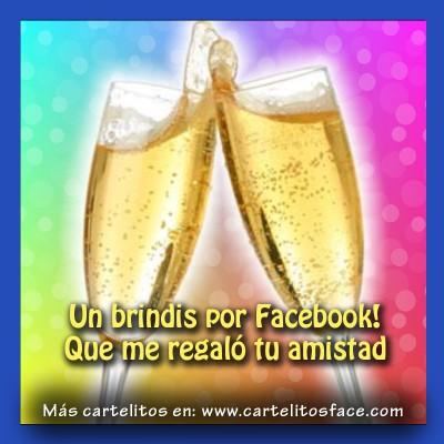 Un brindis por Facebook