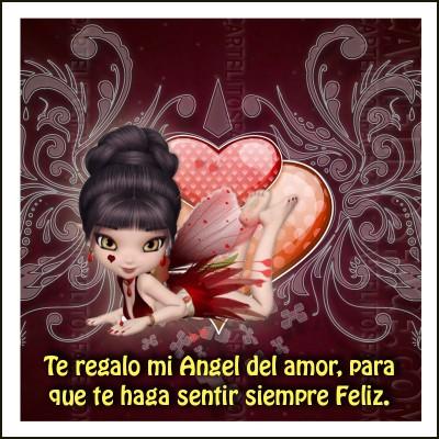 Te regalo mi Ángel del amor