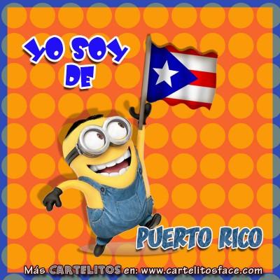 Soy de Puerto Rico.