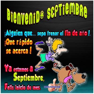 Feliz inicio de mes de septiembre