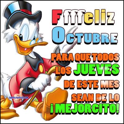 Feliz jueves de octubre