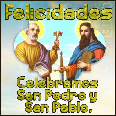 Hoy es San Pedro y San Pablo