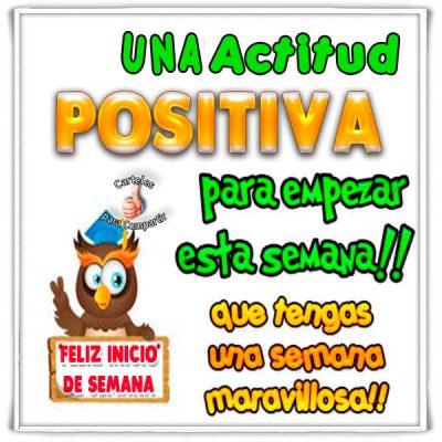 Semana con actitud positiva